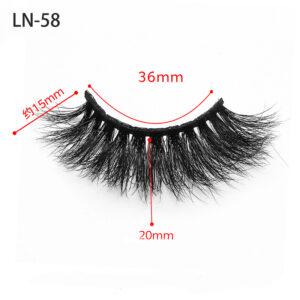 mink 3d hair lashes ln58