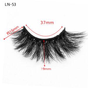 3D Mink Lashes Uk wholesale ln53