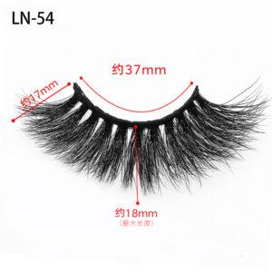 Long Thick 3d Mink Eyelashes ln54