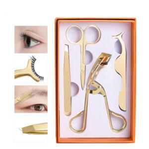 wholesale lashes applicator curler lash application tool eyelash tweezers