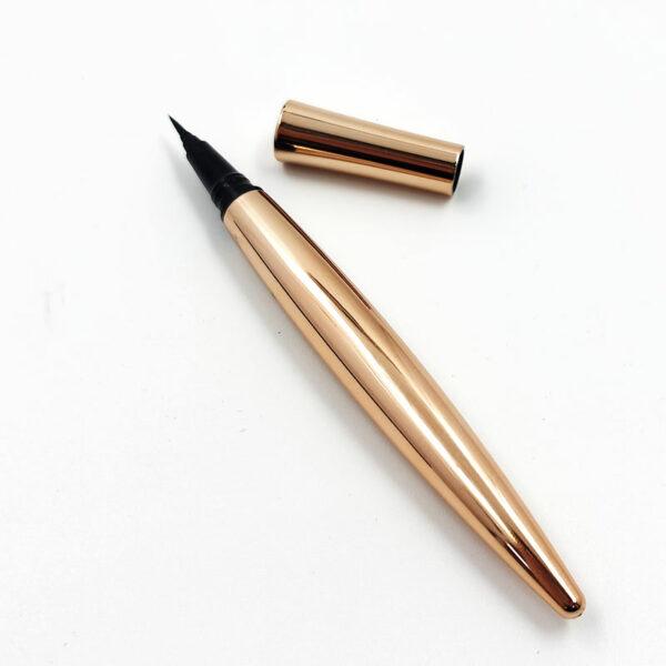 No Magnetic no gule needed black Magic Waterproof Liquid Adhesive Eyeliner Pen for eyelashes wearing
